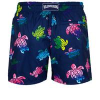 Vilebrequin MEN SWIMWEAR ULTRA-LICHT UND PACKBARER Ronde des TORTUES AQUARELLE Lässige Shorts Men Fashion Style Herren Shorts Bermudas 965