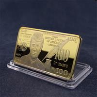 Trump Monnaie commémorative 2020 Fournitures d'élection américaine Métal Bullion Médailles Médailles Donald Trump Collection Collection DHL Livraison Gratuite