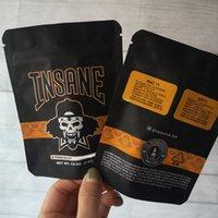 Yeni varış 3.5g INSANE BAG Kanıtı Torbaları Kuru Ot Vaporizer Mylar Fermuar çanta Ücretsiz nakliye için Vape Ambalaj kokla