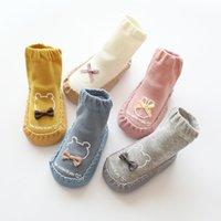 sock shoes girl slippers baby boy home indoor anti slip newborn warm rubber soled socks infant girls slipper