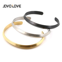 JOVO 3 Style Biker Men Bracelets Stainless Steel High Polish Open Cuff Bracelets for Men Boy Birthday Gift Jewelry