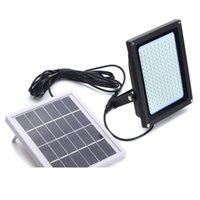 (150) LED 투광 조명 태양 빛 3528 SMD 태양 광 LED 홍수 빛 센서 야외 정원 보안 벽 8W 구동