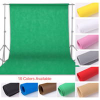 Fotografía 1.6x4 / 3 / 2m Foto de fondo Fondo de fondo Clave de croma de pantalla verde para foto de estudio Studio Soporte no tejido 10 colores