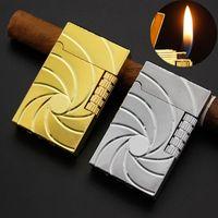 Metal Çakmak Doldurulabilir Bütan Gaz Yenilik Çakmak Yaratıcı Alev Çakmaklar Sigara Aksesuarları