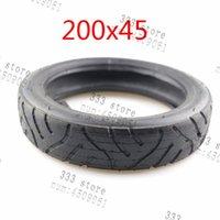 오토바이 바퀴 타이어 8 인치 200x45 타이어 내부 튜브 맞는 전기 스쿠터 면도기 전자 스쿠터 접이식