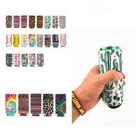 neue Slim Dosenhalter Neopren-Schalensatz Isolator Sleeve Wasserflasche Abdeckungen Tasse holderCase Pouch Bar Produkte können Hülsen 300pcs T2I51300