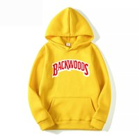 Hoody kazak Kapüşonlular Streetwear Backwoods Hoodie Kazak Erkekler Moda sonbahar kış Hip Hop hoodie manşet vida dişi