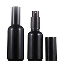 Glas Sprühflasche Schwarz 10ml 15ml 20ml 30ml 50ml 100ml Parfüm Glas Mist Spray Essence Oil Container