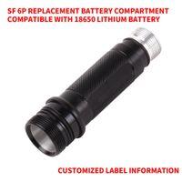 Sostituire surefire 6p, il corpo della lampada G2 infallibile 3p compatibile con 18650 batterie Y200727