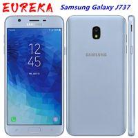 Оригинальный Samsung Galaxy J737 J737v J7 2018 Android 8,0 окта Ядро 5,5 дюйма 1280 * 720 2GB RAM 16GB ROM 13 Мпикс смартфон
