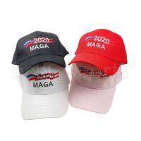 Trump chapéu de basebol 9 estilos de 2020 MAGA Baseball Caps Camo snapbacks Bordado Carta Outdoor Sports ajustável Caps CYZ2727