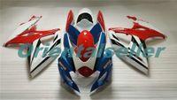 Corpo per Suzuki GSX R600 GSXR750 GSXR600 GSXR600 06-07 GSX R750 GSXR 600 750 K6 GSXR750 2006 2007 carenatura kit nuovo di fabbrica rosso AD16 blu