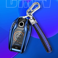 Anahtar Kapak İçin BMW 7 Serisi 730Li 740 Yeni X3 X4 X5 6 Serisi GT630i G30 G31 TPU Araba Anahtarı Kılıf Kabuk