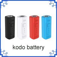 Originale Yocan Kodo Box Mod batteria 400mAh tensione variabile VV batteria per 510 Vape Spesso serbatoio olio cartucce 20pcs / box