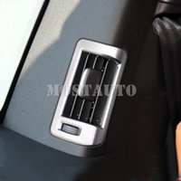Pour Volvo XC90 2015-2018 Accessoires ABS arrière Retour Air Vent de sortie Couverture Garniture 4pcs