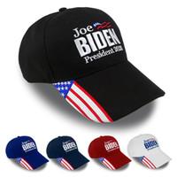 Регулируемое Джо Байден Бейсболка президент 2020 Предвыборная кампания защиты ВС Cap хлопок мужской вышивки Письма моды шляпы VT1448