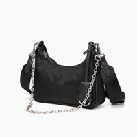 Hot Sale Famous Brand Fashion Bag for Men and Women Wholesale Cross-body Nylon Bag with Small Coin Wallet Women Shoulder Bag