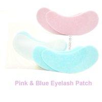 Falsche Wimpern Rosa Wimpernverlängerungspatches unter Augenpads Wimperngel Patch Tipps Aufkleber Wraps Make-Up-Tool