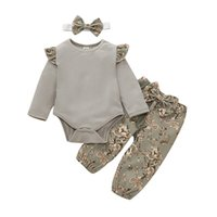 Cute Kids Clothes Spring Autumn Infant Baby Girls Clothes Lo...