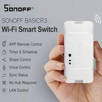 Sonoff BASIC R3 intelligent ON / OFF WiFi Switch, minuterie de soutien léger APP / LAN / Voix Télécommande en mode DIY Fonctionne avec Alexa Accueil Google