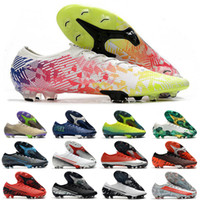 Femmes Hommes Bas Low Chaussures Chaussures Mercurial CR7 Dream Speed Speed Elite FG 13 Ronaldo Neymar NJR 360 Garçons Enfants Soccer Tarceuses Bottes de football Bottes de football