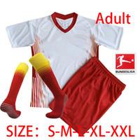 20 21 Soccer Jerseys home away third WERNER Camiseta FORSBERG Maillot HALSTENBERG SABITZER Football Shirts kids kit+socks
