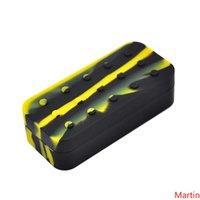 Большой Waxmate Большой силиконовый каучук 75мл кремния площади хранения Форма Wax Контейнеры баночки Box Dab Концентрат инструмент Dabber масло держатель Vape