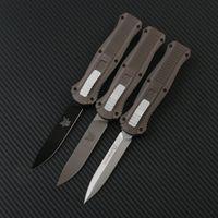 Bench Infidel 3310BK 3300 C07 taktische Messer Doppel Aktion Automatische Plain EDC BM42 Gangtaschenmesser Überlebensmesser