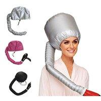 Femeninos Cap secadores de pelo del vapor Tratamiento Térmico sombrero Belleza SPA portátil Nutritivo Hair Styling Cuidado del Cabello eléctrico Calefacción Cap VT1538