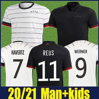 2020 Kit maillot de foot allemand enfants homme équipe nationale Gnabry WERNER Havertz maillot de football DEUTSCHER SANE Kroos REUS football chemises 20/21