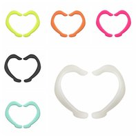 Visage doux Masque silicone Earmuffs Disposablemask Sangle de protection Masque Designer Porte-Longe solide protection Facemask Earloop 6 Couleur YL168