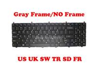 Клавиатуры US TR SP SD FR Клавиатура в Великобританию для Clevo W650eh W650rz1 W650SB W650SC W650SF W650SH W650SJ W650SR Соединенные Штаты Турция Испания Швеция
