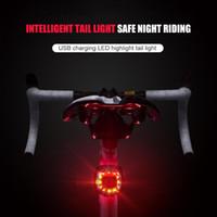 USB assento recarregável Luz Bike Cycling cauda poste de luz LED de bicicleta Luz traseira para Outdoor Caring Abastecimento de bicicleta pessoais