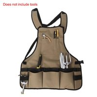 Multifunctional Canvas Working Apron Garden Apron Collector ...