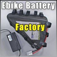 Üçgen Ebike Pil 36V 48V 52V 60V 72V 500W 1000W 2000W Elektrikli Bisiklet