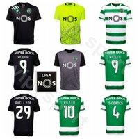 20-21 Sporting CP Lisboa 2020 Futebol 29 Luiz Phellype Jersey 4 Sebastian Coates 9 Luciano Vietto jovane Šporar ACUNA Futebol shirt Kits