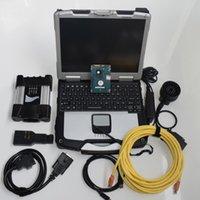 2020.06v HDD 750GB per BMW ICOM prossimo abc con l'inglese / coreano versione completa / tedesca ICOM sof-tware in CF-30 computer portatile usato 4G Toughbook