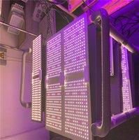 عكس الضوء ينمو ضوء 4BARS 450W سامسونج الكم الصمام لوحة phyto مصباح لوحة الطيف الكامل مع جهاز التحكم عن بعد ل إضاءة النباتات الداخلية