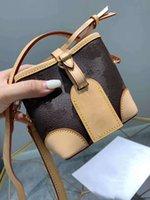 Freeship Luxury l Eimer Schöne Designer Eimer Designer Geldbörse PKOB Blume Mini Ysiykiy Frauen Echte Tasche Oxidation Taschen Handtaschen Lea Dejp