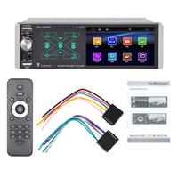 4.1 İnç Araba Radyo 1DIN İletişim Ekranı Multimedya MP5 Çalar Oto Stereo Bluetooth araç dvd