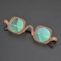 Lunettes de soleil mode cadres lunettes d'acétate vintage cadre rond hommes femmes myopie ordonnance lunettes optiques lunettes petits spectacles lunettes