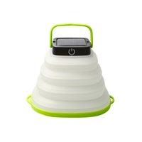 Солнечный свет светодиодного фонарь Кемпинга Портативный фонарик для пешего туризма Палатки МОЩНЛАМПЫ Гелиосистем / зарядное устройство складного водонепроницаемого CRESTECH