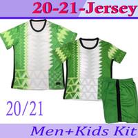 2021 Nigelia Soccer Jersey Home Away 20 21 Nigelia Jersey تراكسويت Okechukwu Okoha Ahmed Musa Mikel Iheacho كرة القدم قميص الرجال موحدة