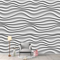 Custom Any Size Mural Wallpaper 3D Abstract Art Stripe Wall Painting Living Room TV Sofa Bedroom Home Decor Papel De Parede 3 D