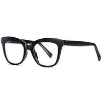 Anti Light Blue Occhiali delle donne di blocco di lettura del calcolatore di modo ottico obiettivo chiaro UV400 occhiali Piazza signore Eyewear 3505