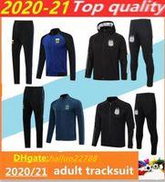 2020 / 21Argentina giacca di calcio abbigliamento sportivo chandal tuta Survêtement Macy Dibala Icardi camisetas de futbol Giacca calcio maschile 2020