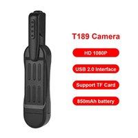 T189 Kalem Mini Kamera Full HD 1080P Gizli Kamera Giyilebilir Vücut Kalem Mini DVR DV ESPÍA Küçük