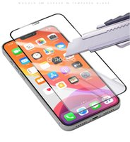 9H Full Cover Tempered Gla Screen Protector AB Vollkleber für iPhone 13 12 11 PRO MAX 6 7 8 PLUS XR XS MAX 700P