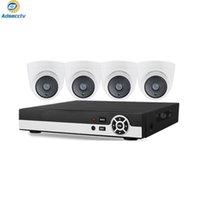 4CH DVR 5M CCTV نظام فيديو مسجل 4 قطع 5mp الأمن المنزلية للماء الرؤية الليلية كاميرا مراقبة أطقم