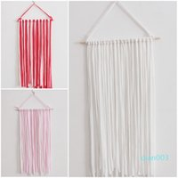 Fashion Striped Storage Belt Multicolour Wall Hanging Headdr...